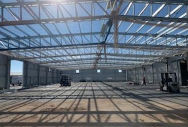 ¡Última fase de ampliación de nuestras instalaciones!